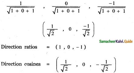 Samacheer Kalvi 11th Maths Guide Chapter 8 Vector Algebra - I Ex 8.2 16