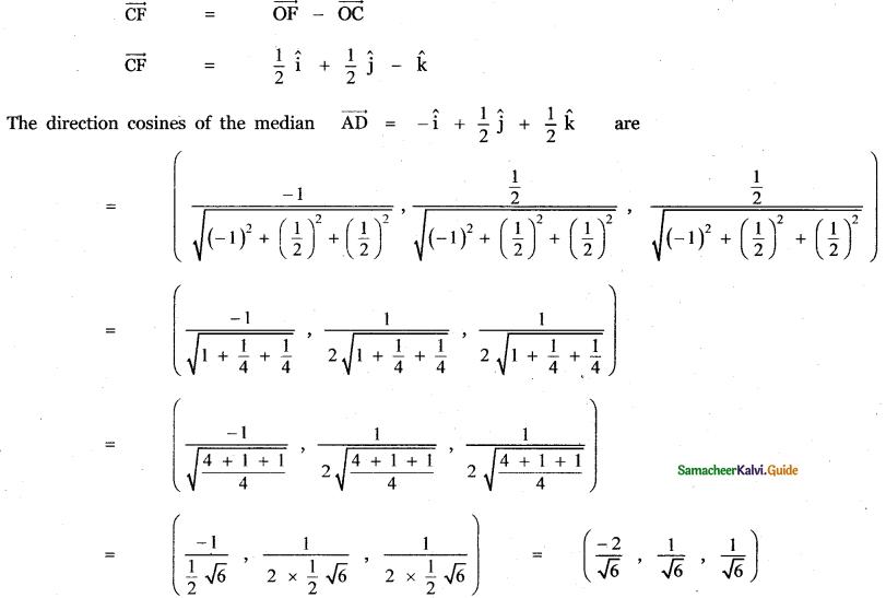 Samacheer Kalvi 11th Maths Guide Chapter 8 Vector Algebra - I Ex 8.2 19