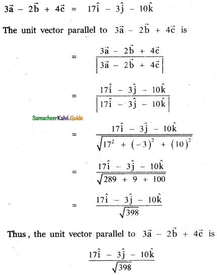 Samacheer Kalvi 11th Maths Guide Chapter 8 Vector Algebra - I Ex 8.2 40