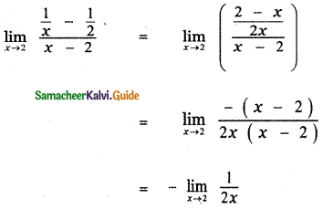 Samacheer Kalvi 11th Maths Guide Chapter 9 Limits and Continuity Ex 9.2 13