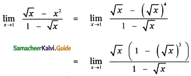 Samacheer Kalvi 11th Maths Guide Chapter 9 Limits and Continuity Ex 9.2 16