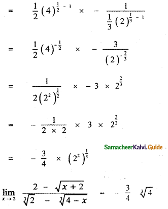 Samacheer Kalvi 11th Maths Guide Chapter 9 Limits and Continuity Ex 9.2 27