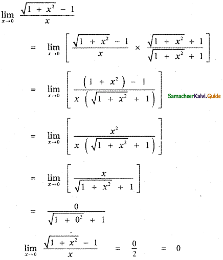 Samacheer Kalvi 11th Maths Guide Chapter 9 Limits and Continuity Ex 9.2 29