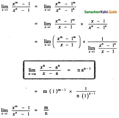 Samacheer Kalvi 11th Maths Guide Chapter 9 Limits and Continuity Ex 9.2 5