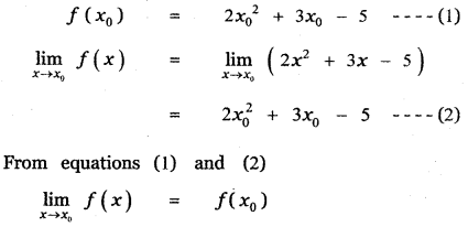 Samacheer Kalvi 11th Maths Guide Chapter 9 Limits and Continuity Ex 9.5 1