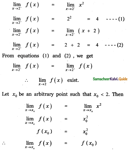 Samacheer Kalvi 11th Maths Guide Chapter 9 Limits and Continuity Ex 9.5 23