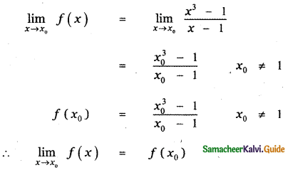 Samacheer Kalvi 11th Maths Guide Chapter 9 Limits and Continuity Ex 9.5 39
