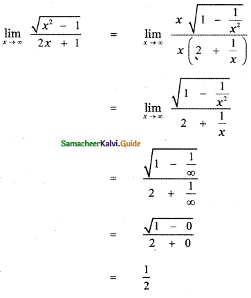 Samacheer Kalvi 11th Maths Guide Chapter 9 Limits and Continuity Ex 9.6 13