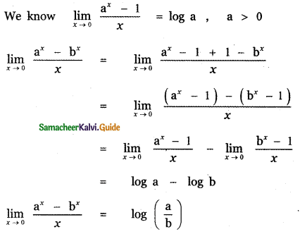 Samacheer Kalvi 11th Maths Guide Chapter 9 Limits and Continuity Ex 9.6 15