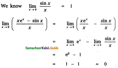 Samacheer Kalvi 11th Maths Guide Chapter 9 Limits and Continuity Ex 9.6 33