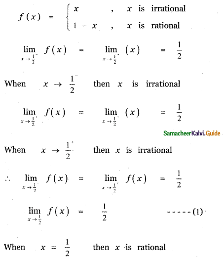 Samacheer Kalvi 11th Maths Guide Chapter 9 Limits and Continuity Ex 9.6 52