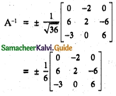 Samacheer Kalvi 12th Maths Guide Chapter 1 Applications of Matrices and Determinants Ex 1.1 27