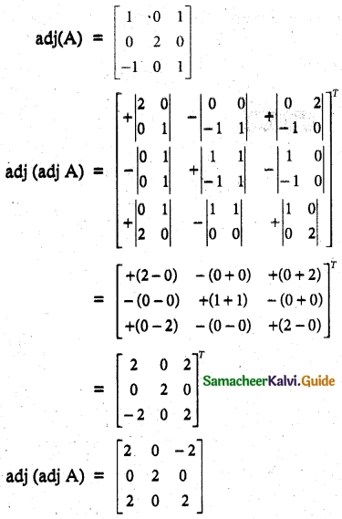 Samacheer Kalvi 12th Maths Guide Chapter 1 Applications of Matrices and Determinants Ex 1.1 29