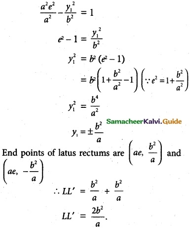 Samacheer Kalvi 12th Maths Guide Chapter 5 Two Dimensional Analytical Geometry - II Ex 5.2 21