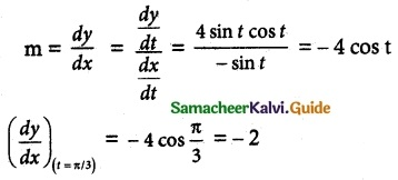Samacheer Kalvi 12th Maths Guide Chapter 7 Applications of Differential Calculus Ex 7.2 3