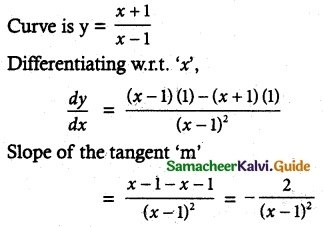 Samacheer Kalvi 12th Maths Guide Chapter 7 Applications of Differential Calculus Ex 7.2 4