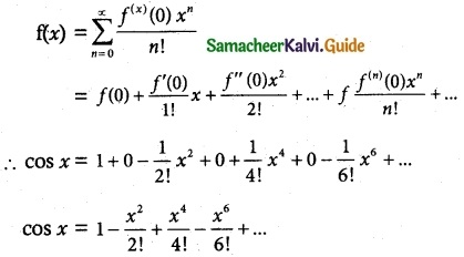 Samacheer Kalvi 12th Maths Guide Chapter 7 Applications of Differential Calculus Ex 7.4 3