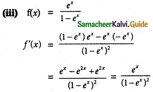 Samacheer Kalvi 12th Maths Guide Chapter 7 Applications of Differential Calculus Ex 7.6 4