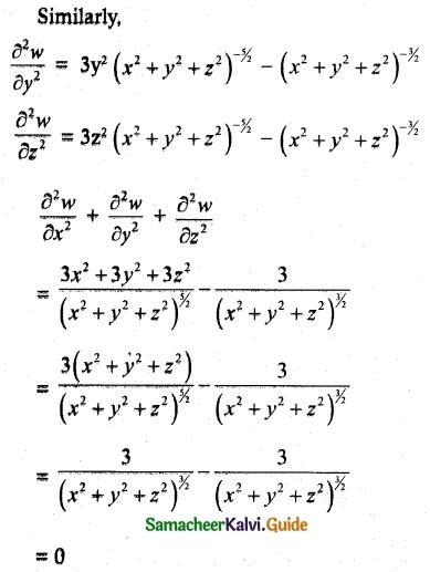 Samacheer Kalvi 12th Maths Guide Chapter 8 Differentials and Partial Derivatives Ex 8.4 13
