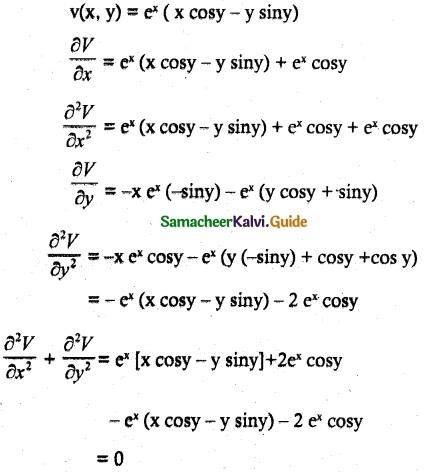 Samacheer Kalvi 12th Maths Guide Chapter 8 Differentials and Partial Derivatives Ex 8.4 14