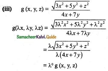 Samacheer Kalvi 12th Maths Guide Chapter 8 Differentials and Partial Derivatives Ex 8.7 2