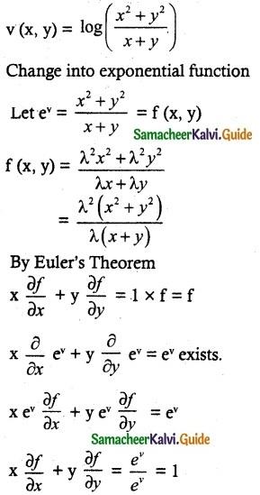Samacheer Kalvi 12th Maths Guide Chapter 8 Differentials and Partial Derivatives Ex 8.7-7