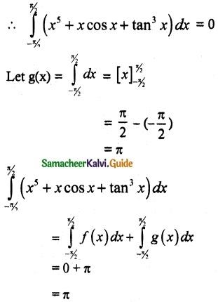 Samacheer Kalvi 12th Maths Guide Chapter 9 Applications of Integration Ex 9.3 8