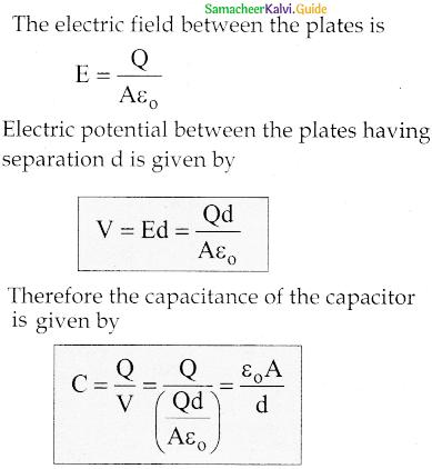 Samacheer Kalvi 12th Physics Guide Chapter 1 Electrostatics 53