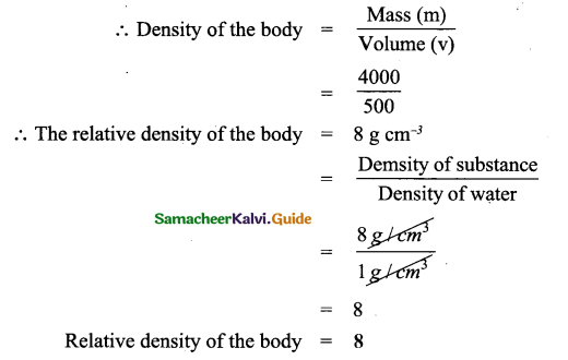 Samacheer Kalvi 9th Science Guide Chapter 3 Fluids 14