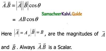 Samacheer Kalvi 11th Physics Guide Chapter 2 Kinematics 12
