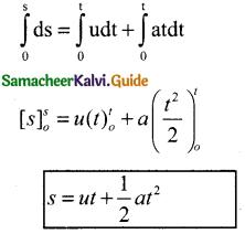 Samacheer Kalvi 11th Physics Guide Chapter 2 Kinematics 26