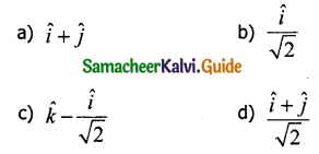 Samacheer Kalvi 11th Physics Guide Chapter 2 Kinematics 3
