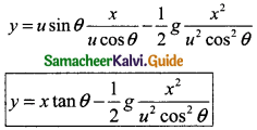 Samacheer Kalvi 11th Physics Guide Chapter 2 Kinematics 32
