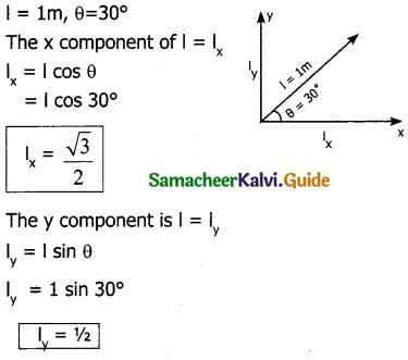 Samacheer Kalvi 11th Physics Guide Chapter 2 Kinematics 40