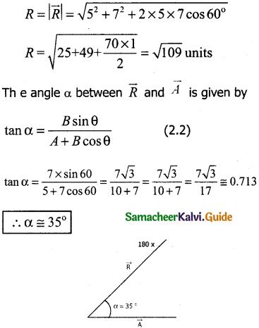 Samacheer Kalvi 11th Physics Guide Chapter 2 Kinematics 67