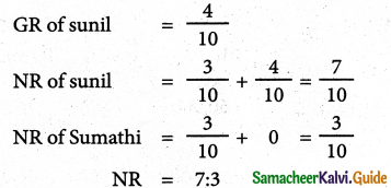 Samacheer Kalvi 12th Accountancy Guide Chapter 6 Retirement and Death of a Partner 17