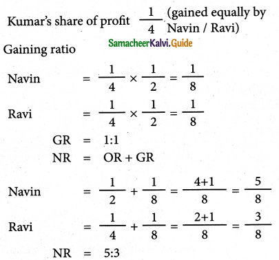 Samacheer Kalvi 12th Accountancy Guide Chapter 6 Retirement and Death of a Partner 19
