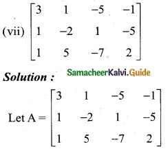 Samacheer Kalvi 12th Business Maths Guide Chapter 1 Applications of Matrices and Determinants Ex 1.1 3