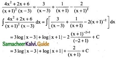 Samacheer Kalvi 12th Business Maths Guide Chapter 2 Integral Calculus I Ex 2.2 7