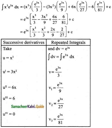 Samacheer Kalvi 12th Business Maths Guide Chapter 2 Integral Calculus I Ex 2.5 2