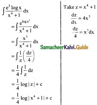 Samacheer Kalvi 12th Business Maths Guide Chapter 2 Integral Calculus I Ex 2.6 1