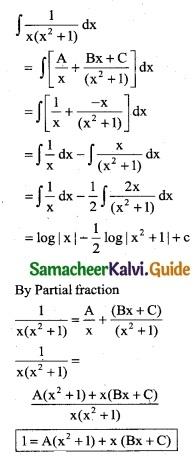 Samacheer Kalvi 12th Business Maths Guide Chapter 2 Integral Calculus I Ex 2.6 10