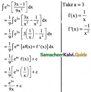 Samacheer Kalvi 12th Business Maths Guide Chapter 2 Integral Calculus I Ex 2.6 12