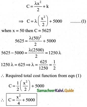 Samacheer Kalvi 12th Business Maths Guide Chapter 3 Integral Calculus II Ex 3.2 15