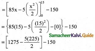 Samacheer Kalvi 12th Business Maths Guide Chapter 3 Integral Calculus II Ex 3.3 2