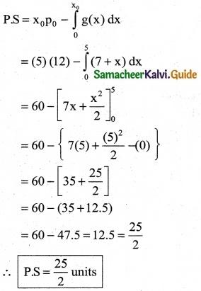Samacheer Kalvi 12th Business Maths Guide Chapter 3 Integral Calculus II Ex 3.3 4