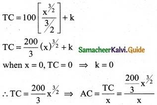 Samacheer Kalvi 12th Business Maths Guide Chapter 3 Integral Calculus II Ex 3.4 8