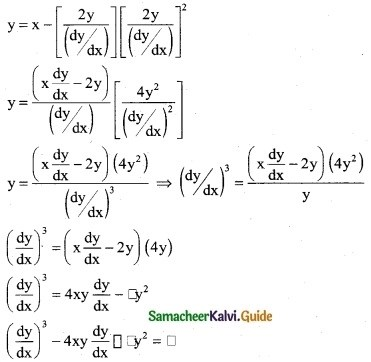 Samacheer Kalvi 12th Business Maths Guide Chapter 4 Differential Equations Ex 4.1 4