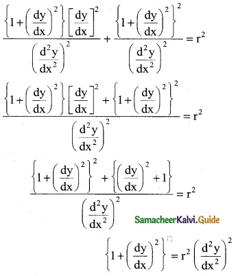 Samacheer Kalvi 12th Business Maths Guide Chapter 4 Differential Equations Ex 4.1 7