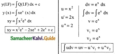 Samacheer Kalvi 12th Business Maths Guide Chapter 4 Differential Equations Ex 4.4 6